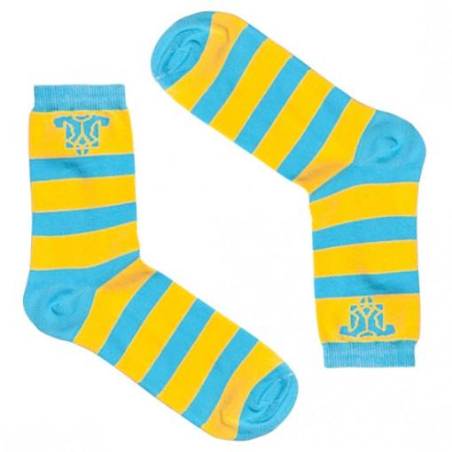 Шкарпетки патріотичні синьо-жовті